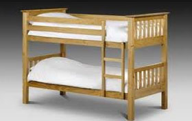 Bunkbeds should be secured for earthquakes to prevent injury.